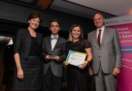 Visagino technologijos ir verslo profesinio mokymo centras įvertintas prestižiniu apdovanojimu