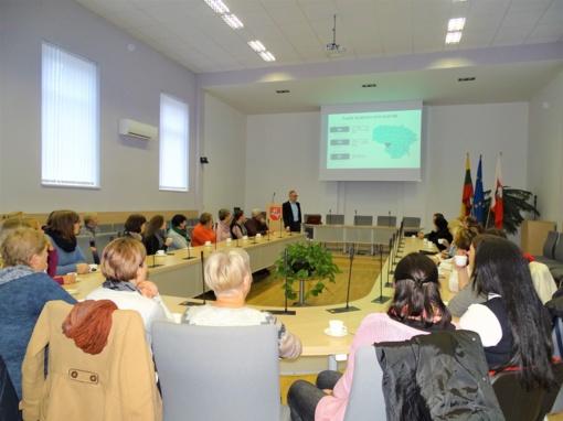 Skuodo rajono savivaldybės darbuotoji mokėsi Šakiuose