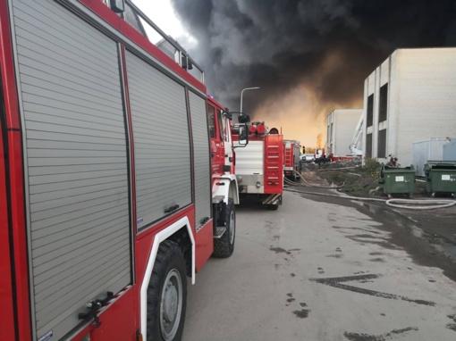 Dėl gaisro Alytuje pasekmių Reabilitacijos centro patalpose aptikta gyvenamajai aplinkai nebūdingų medžiagų