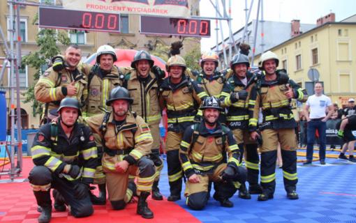 Lietuvos stipriausiųjų ugniagesių gelbėtojų rinktinė išvyksta į Pasaulio čempionatą Montgomeryje