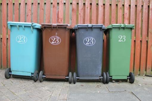 Prašoma neužstatyti atliekų konteinerių