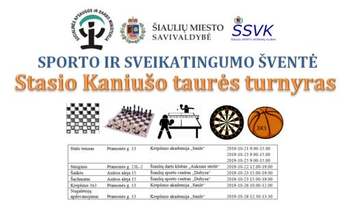 Šiaulių sporto veteranų klubas kviečia į renginį miesto bendruomenes