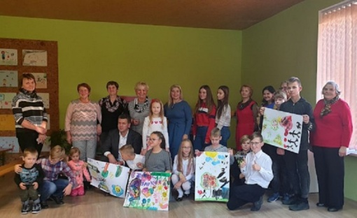 Kalnelio Gražionių vaikų ir jaunimo dienos centre – atnaujinta erdvė vaikams ir jaunimui