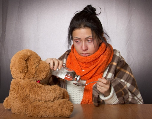 Sumažėjo sergamumas gripu ir peršalimo ligomis