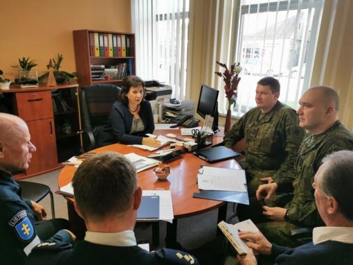 Lapkritį Prienuose vyks karinės pratybos