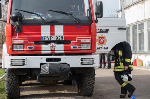 Alytaus gaisras: naujausia informacija iš įvykio vietos
