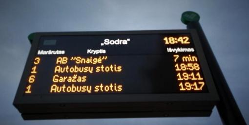 Atkuriami miesto autobusų maršrutai