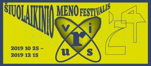 Šiuolaikinio meno festivalis VIRUS'24  prasideda!