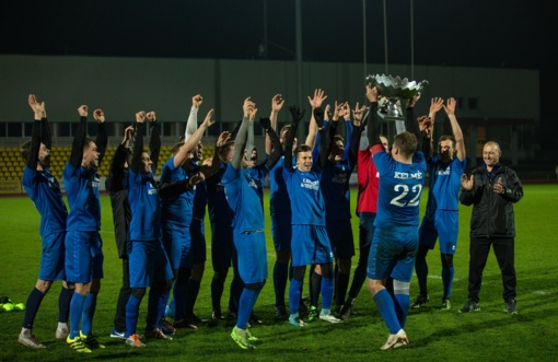 Kelmės futbolininkai tapo Šiaulių apskrities pirmenybių čempionais