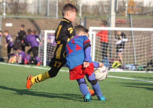 Šiaulių apskrities vaikų futbolo pirmenybėse dalyvavo beveik 450 vaikų