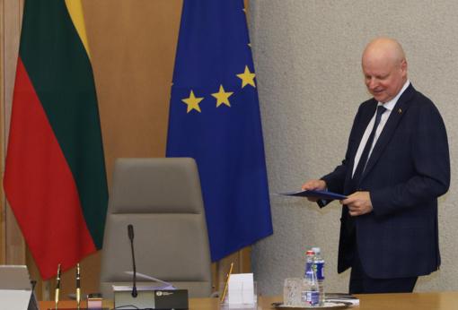 S. Skvernelis: vakar Seimas sumažino valstybės biudžeto pajamų dalį