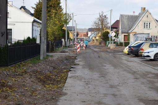 Bažnyčios gatvėje ribojamas eismas