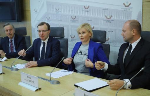 Į Seimą – su nauju pavadinimu: N. Puteikis, R. Janutienė ir K. Krivickas nepasiduoda
