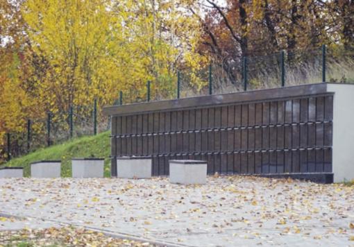 Laidoti jau galima ir Kaišiadorių kapinių kolumbariume
