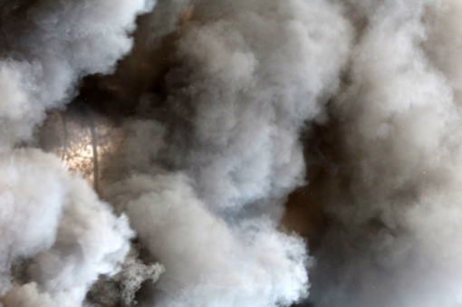 Skuodo rajone kilo gaisras – dega namas
