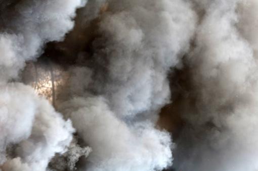 Pakruojo rajone dega pastatas