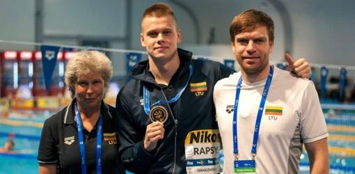 Plaukikui D. Rapšiui - pasaulio taurės etapo Kazanėje sidabras