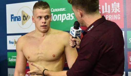 Plaukikas D. Rapšys Kazanėje pateko į eilinį finalą