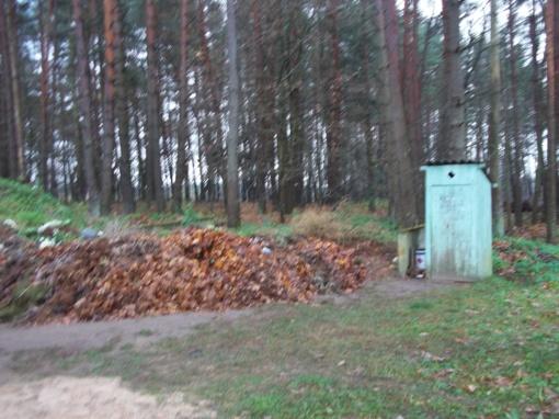 Kapinių aplinka ir tualetas turėtų būti tvarkingi