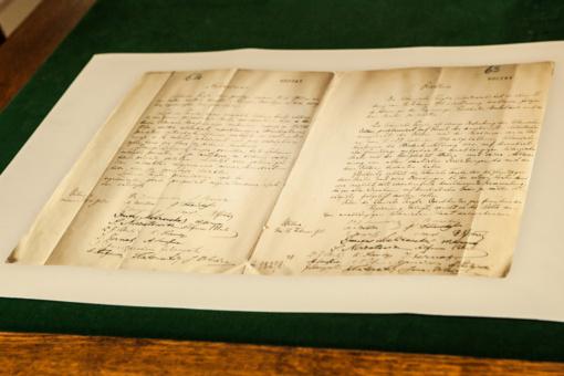 Norintys pamatyti L. Mažylio rastą Vasario 16-osios aktą turėtų paskubėti: jis bus eksponuojamas iki lapkričio 15-osios