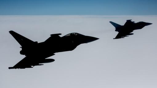NATO naikintuvai 5 kartus lydėjo Rusijos orlaivius