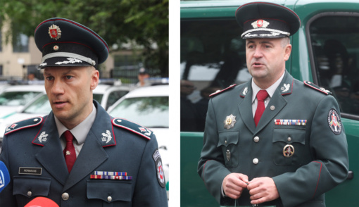 Vyriausybė pritarė L. Pernavo atleidimui ir R. Požėlos skyrimui į policijos vadovus