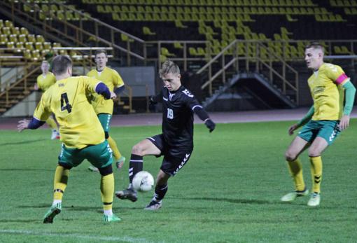 Pirmąjį LSFL čempionato ratą Šiaulių universiteto futbolininkai baigė pergale