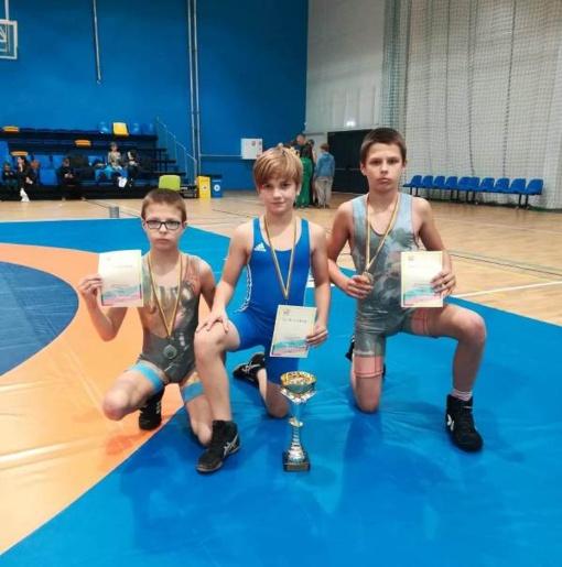Jaunieji Pagėgių imtynininkai – Lietuvos čempionai