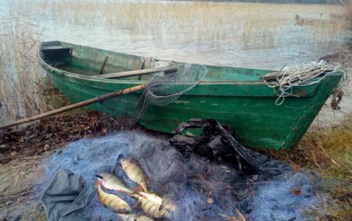 Brakonieriaujant sučiuptas verslinės žvejybos leidimą turėjęs asmuo