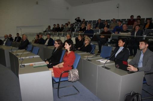 Savivaldybėje susitikimas su verslo atstovais