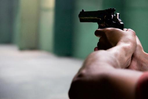 Šilutėje pas vairuotoją rastas nelegalus revolveris