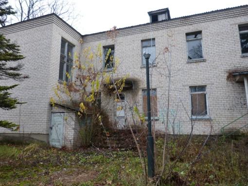Senoji ligoninė vis dar areštuota