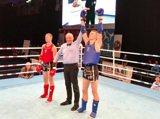 Finale dominavęs D. Dirkstys - Europos muaitai čempionas