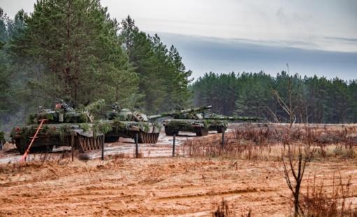 Kariuomenės pratybose Švenčionių rajone – didelė puolimo ir gynybos operacija