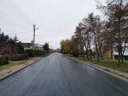 Sutvarkyti keliai ir gatvės kiekvieną dieną tarnauja Marijampolės gyventojams