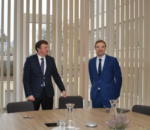 Joniškyje lankėsi Socialinės apsaugos ir darbo ministras Linas Kukuraitis