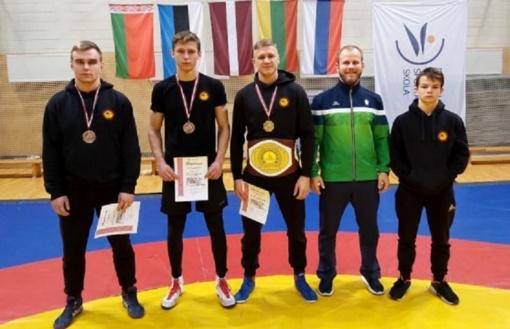 Imtynininkai iš Radviliškio – Daugpilyje