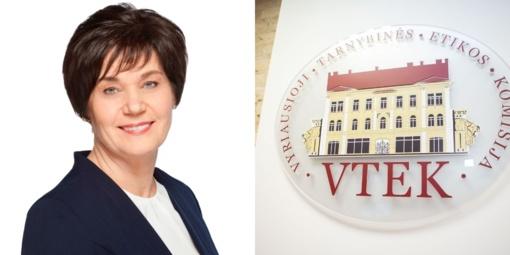 VTEK svarstys buvusios Kretingos rajono savivaldybės mero pavaduotojos D. Skruibienės elgesį
