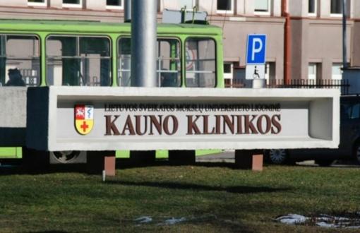 VTEK vertins keturių Kauno klinikų darbuotojų elgesį