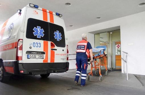 Vilniuje per avariją nukentėjo moteris