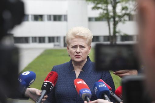 D. Grybauskaitės atstovė spaudai: kol vyksta teismo procesas, jokių komentarų nebus