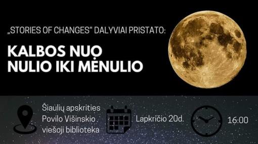 """Viešųjų kalbų maratonas """"Nuo nulio iki mėnulio"""""""