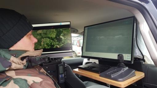 Pasieniečiai įsigijo visureigį su moderniausia stebėjimo įranga