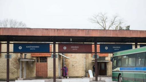 Trakų autobusų stoties laukimo salė bus uždaryta visą savaitę