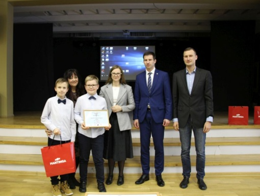 Pirmą kartą organizuotas verslo idėjų konkursas sukvietė beveik šimtą mokinių
