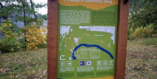 Vidzgirio botaniniame draustinyje atnaujintas ekologinis pažintinis takas
