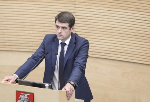 R. Žemaitaitis neteko narystės Seimo valdyboje ir seniūnų sueigoje