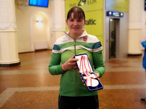 Pasaulio vicečempionė I. Mikštaitė: į priekį veda meilė sportui