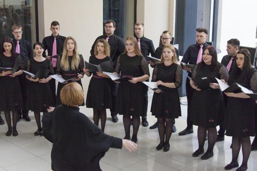 Šiauliuose prasidėjo XXI Lietuvos aukštųjų mokyklų studentų chorų festivalis
