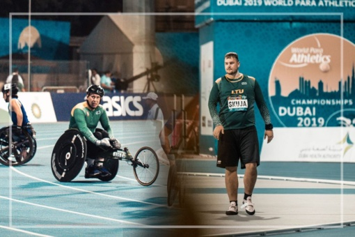 Lietuvos lengvaatlečiai su Dubajumi atsisveikino dviem rekordais